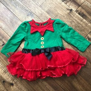 • baby girl elf dress •